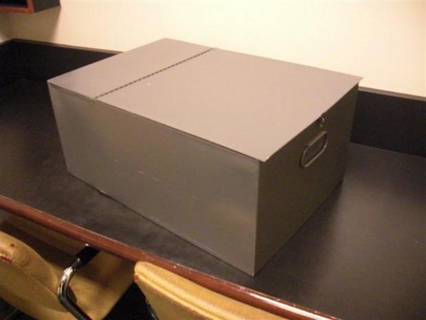 Large Metal Safety Deposit Box - Banks