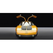 Yellow Gull Wing Door Mercedes-Benz - Cars
