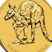 Australian Half Gram Kangaroo Cold Coin - Money thumb