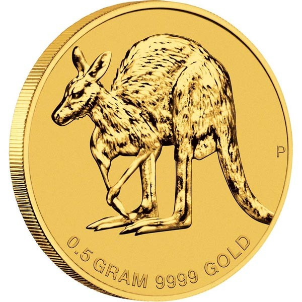 Australian Half Gram Kangaroo Cold Coin - Money Image 21b