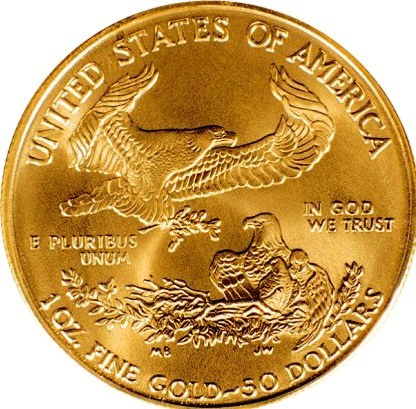 American Gold Eagle Coin - Money