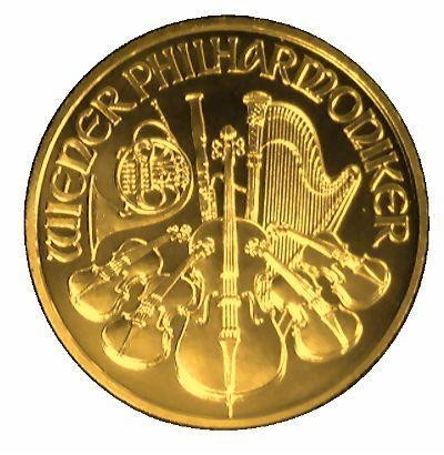 Austrian Philharmonic Pure Gold Coin - Money