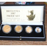 Britannia Gold Proof Set - Coins