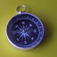 Compass thumb