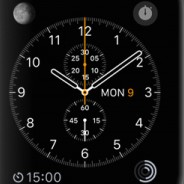 Chronograph Apple Watch Face