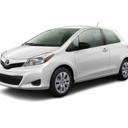 Yaris Hatchback 2012 Alpine White Toyota - Cars