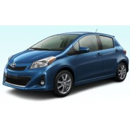 Yaris Hatchback 2012 Blue Toyota - Cars