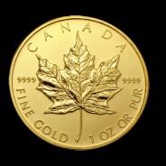 1 ounce Gold Maple Leaf Coin