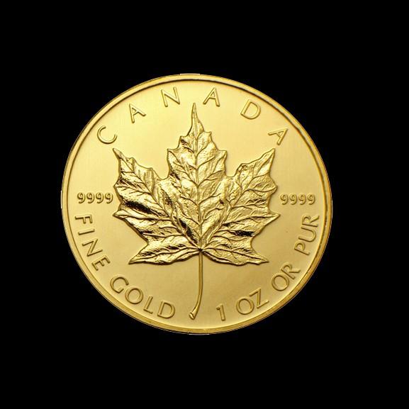 1 ounce Gold Maple Leaf Coin