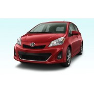 Yaris Hatchback 2012 Red Toyota - Cars