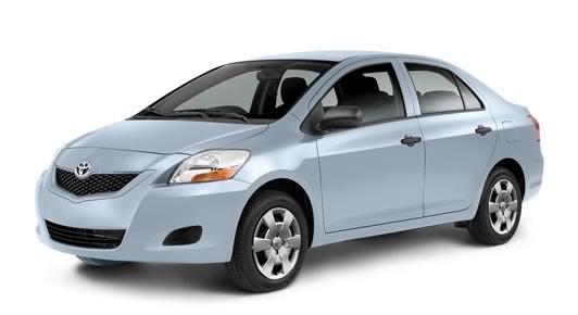 Yaris Sedan 2012 Zephyr Blue Metallic Toyota Cars