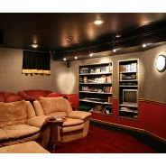 Home Theater System and Entertainment Room - Family