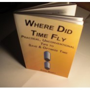 Time Flies Time Management Book - Paperback Books
