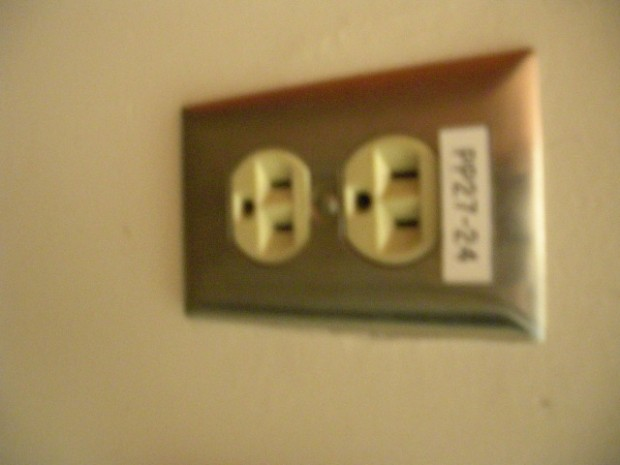 Electric Wall Socket for Plugs - Electricity