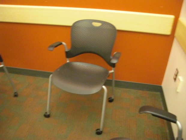 Movable Chair with Wheels - Chairs