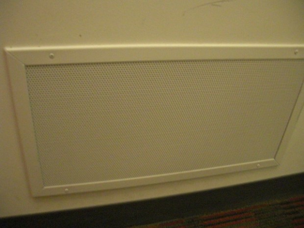 Air Vents on Wall