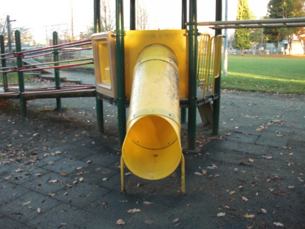 Yellow Slide - Playground