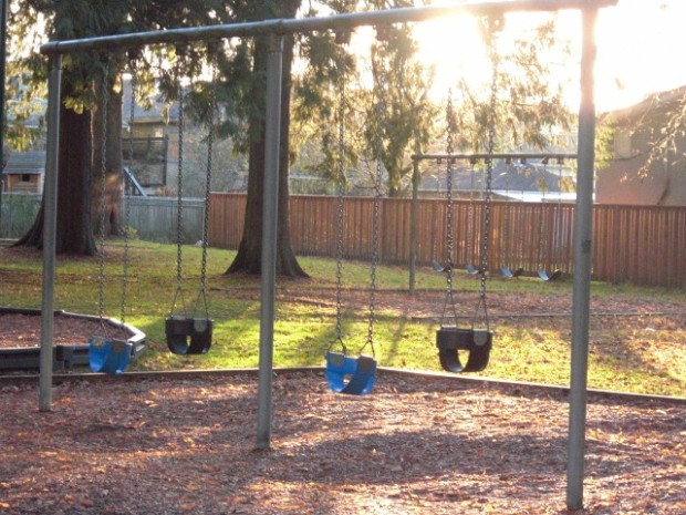 Children's Swings - Playground