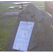 Boulder with Plaque - Monuments